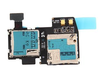 Card Connector  for Galaxy S4 Active / i9295
