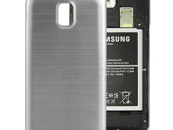 Full Metallic Brushed  Battery Cover with Black Frame for Galaxy Note III / N9000