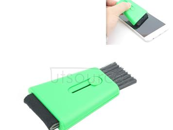 SW-2070 Cleaning Brush for Cell Phone Screen / Display screen / Keyboard(Green)