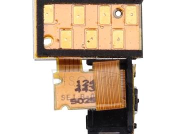 Power Button Flex Cable  & Earphone Jack  Parts for Sony Xperia S / LT26 / LT26i