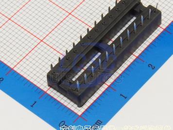 Boom Precision Elec 24P 2.54mm ICsocket ()(10pcs)