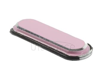 Golden Edge Home Button  for Galaxy Note III / N9000(Pink)