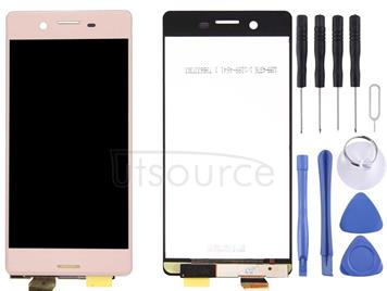 LCD Screen and Digitizer Full Assembly for Sony Xperia X (Rose Gold)