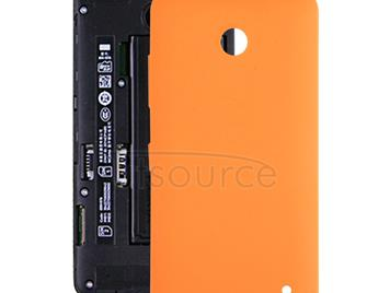 Battery Back Cover for Nokia Lumia 630 (Orange)