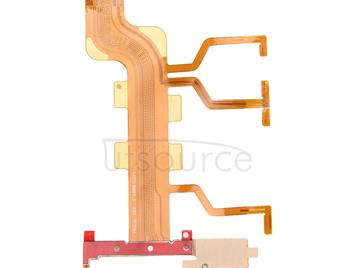 Power Button & Volume Button & Microphone Ribbon Flex Cable  for Sony Xperia T2 Ultra Dual / XM50h / D5322