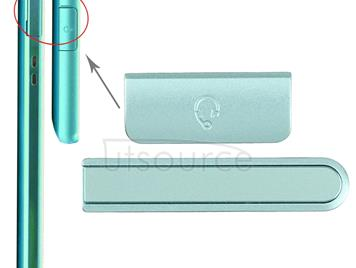 Earphone Button & Volume Button  for Sony Xperia ZR / M36h(Blue)