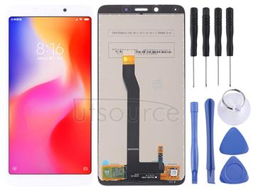 LCD Screen and Digitizer Full Assembly for Xiaomi Redmi 6 / 6A(White)