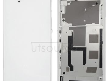 Middle Board + Battery Back Cover for Sony L36H(White)