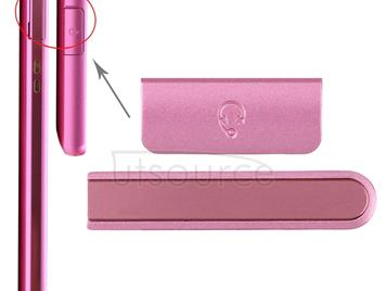 Earphone Button & Volume Button  for Sony Xperia ZR / M36h(Magenta)