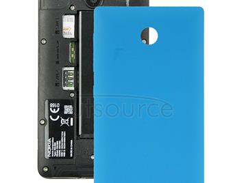 Original Plastic Battery Back Cover + Side Button For Nokia X (Blue)