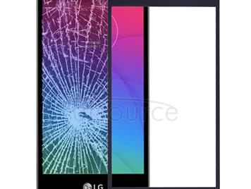 Front Screen Outer Glass Lens for LG Spirit / H440 (Black)