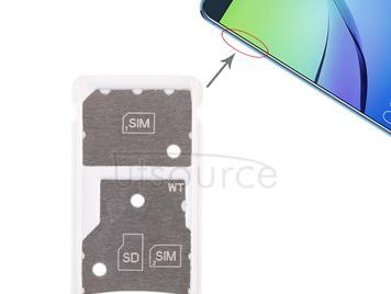 2 SIM Card Tray / Micro SD Card Tray for Huawei Enjoy 6 / AL00(Green)