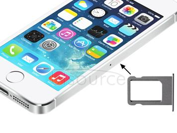 Original Sim Card Tray Holder for iPhone 5S(Silver)
