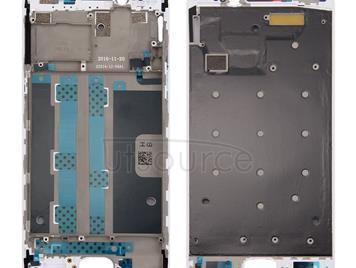 Front Housing LCD Frame Bezel Plate for OPPO R9s(White)