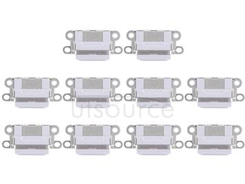 10 PCS Charging Port Connector for iPhone 6 / 6S(Light Grey)