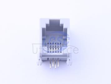 Shenzhen Cankemeng PCB-6P4C-90degree-Boundless-gray Full gold(5pcs)