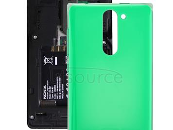 Dual SIM Battery Back Cover for Nokia Asha 502 (Green)