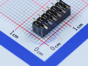 Boom Precision Elec 2.0MM2*6PFemale header H=4.3mm(7pcs)
