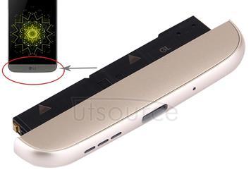(Charging Dock + Microphone + Speaker Ringer Buzzer) Module for LG G5 / LS992(Gold)
