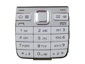 Mobile Phone Keypads Housing  with Menu Buttons / Press Keys for Nokia E52(White)