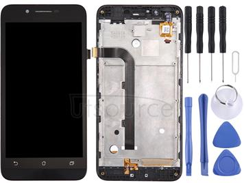 LCD Screen and Digitizer Full Assembly with Frame for Asus ZenFone Go / ZC500TG / Z00VD (Black)