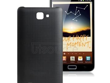 Original  Back Cover for Galaxy Note / i9220 / N7000(Black)