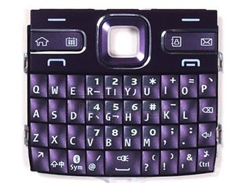 Mobile Phone Keypads Housing  with Menu Buttons / Press Keys for Nokia E72(Purple)