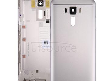 Original Aluminium Alloy Back Battery Cover for Asus Zenfone 3 Laser / ZC551KL (Silver)