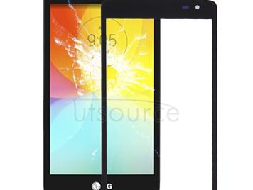Front Screen Outer Glass Lens for LG L Fino / D290 / D295 & F60 / D390 / D395 (Black)