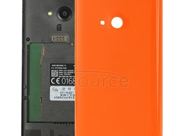 Smooth Surface Plastic Back Housing Cover  for Microsoft Lumia 535(Orange)