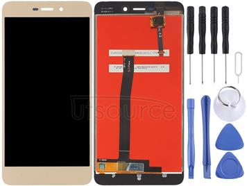 LCD Screen and Digitizer Full Assembly for Xiaomi Redmi 4A(Gold)