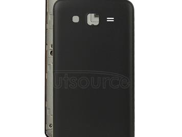 Skin Texture Back Housing Cover for Galaxy Grand 2 / G7106(Black)