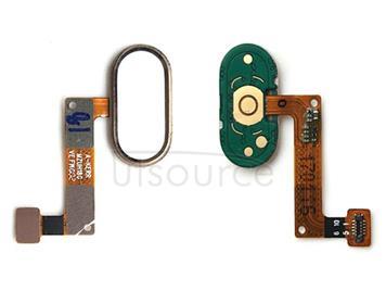 Home Button / Fingerprint Sensor Button for Meizu M5 Note(Gold)