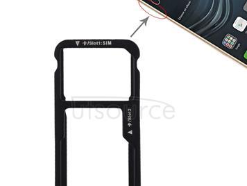 SIM Card Tray + SIM Card Tray / Micro SD Card for Huawei P9 Lite(Gold)