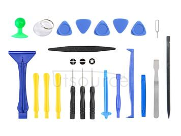 JF-8130 22 in 1 Crowbar Spudger Repairing Disassemble Open Tool Kit