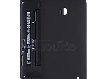 Battery Back Cover for Nokia Lumia 630(Black)