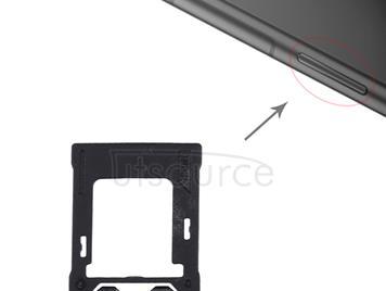 for Sony Xperia XZ1 SIM / Micro SD Card Tray, Double Tray(Pink)