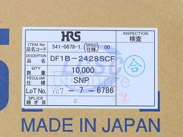 Hirose/HRS DF1B-2428SCF(20pcs)