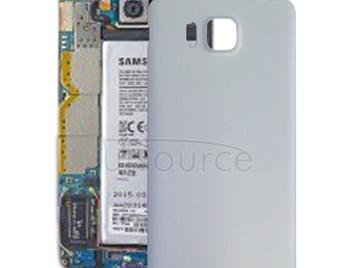 Battery Back Cover  for Galaxy Alpha / G850(White)