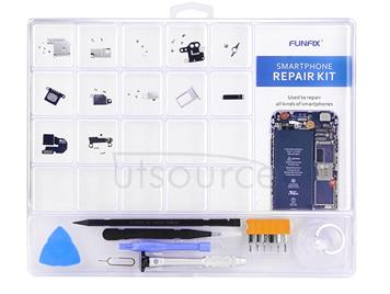 FUNFIX 14 in 1 Repair Open Tool Kit with Blades for iPhone 6 & 6s / iPhone 5 & 5S / Mobile Phone