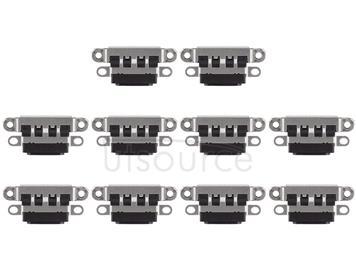 10 PCS Charging Port Connector for iPhone 7 Plus / 7(Black)