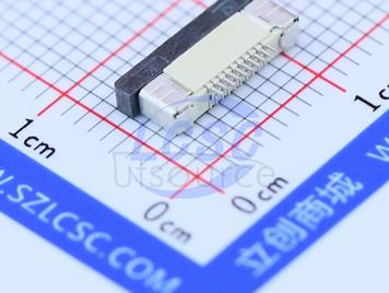 Boom Precision Elec FPC 0.5mmpitch 10P H2.0mm Pull type Pick up(6pcs)