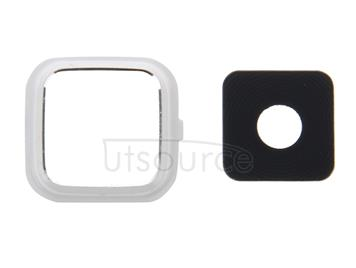 10 PCS Camera Lens Cover  for Galaxy Note 4 / N910(White)