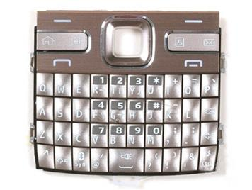 Mobile Phone Keypads Housing  with Menu Buttons / Press Keys for Nokia E72(Gold)