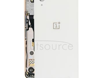 Battery Back Cover  for OnePlus X(White)