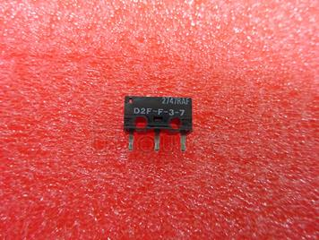 Mouse micro switch OMRON D2F-F-3-7 (red point) 12.8*5.8*10mm 0.74N