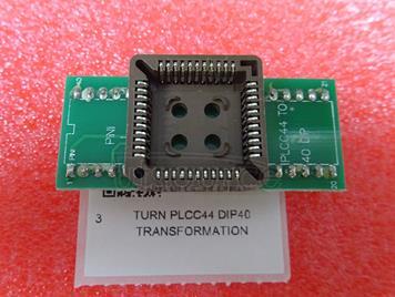 Turn PLCC44 DIP40 transformation