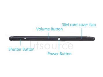 OEM Middle Frame for Sony Xperia M4 Aqua Black