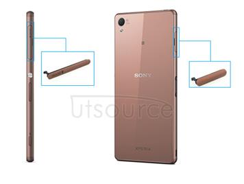 OEM Micro SD+SIM+USB Port Cover Flap Replacement for Sony Xperia Z3  Copper