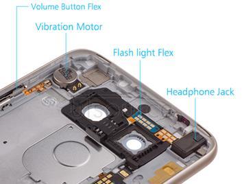 OEM Rear Housing Assembly for LG G5 SE Gold